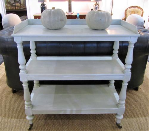 A Victorian three tier buffet