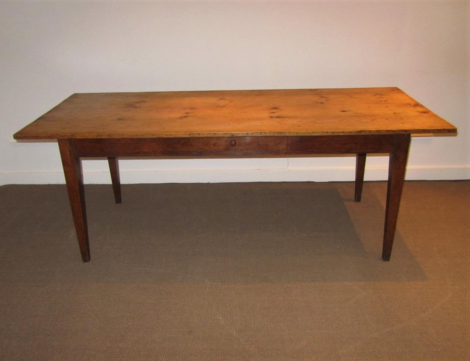 A 19thC French farmhouse table