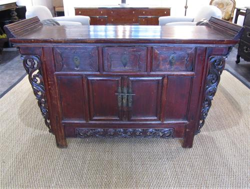 A Chinese alter cabinet