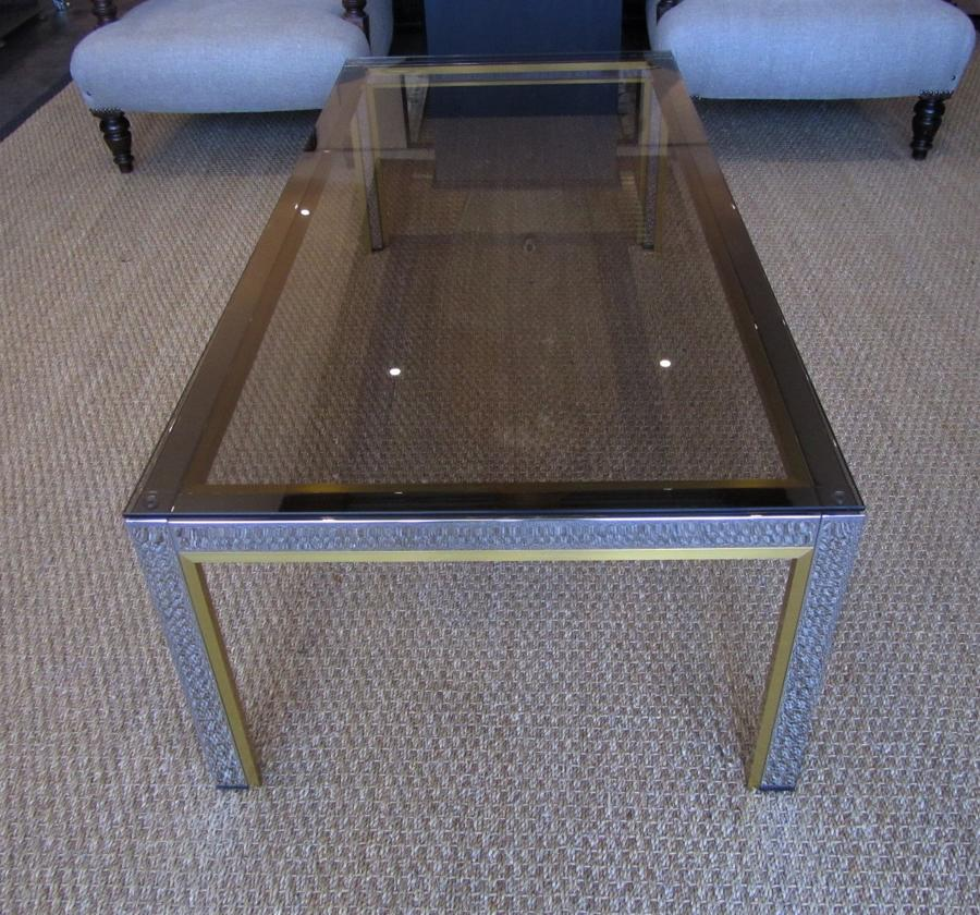A mid century Italian coffee table