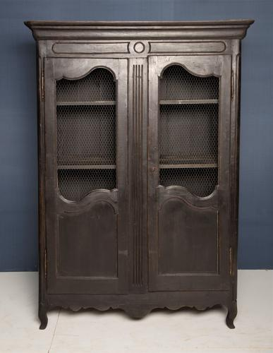 An 18thC French provincial Armoire