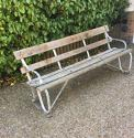 An Early 20thC Railway station Bench - picture 1