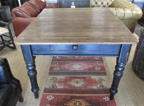 A Victorian pantry table