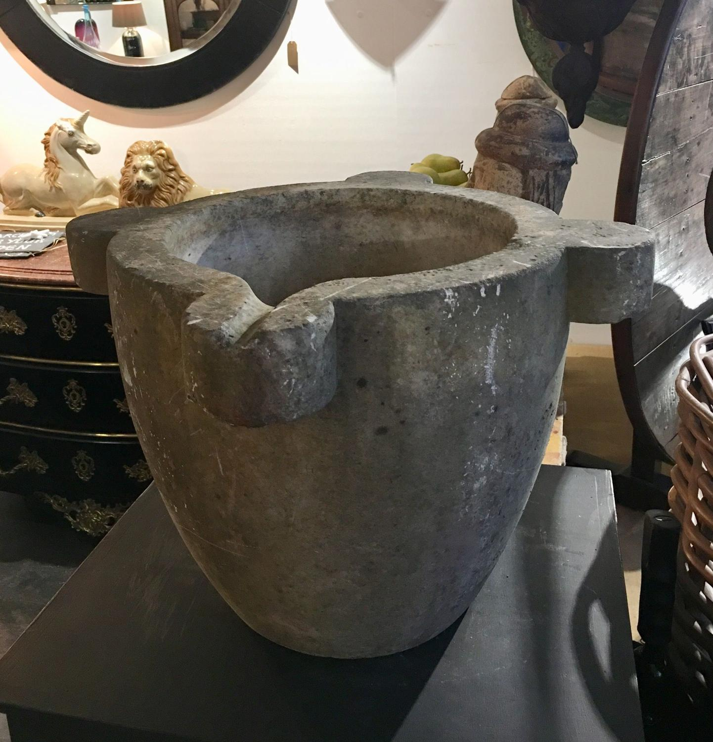 A very large Marble Mortar