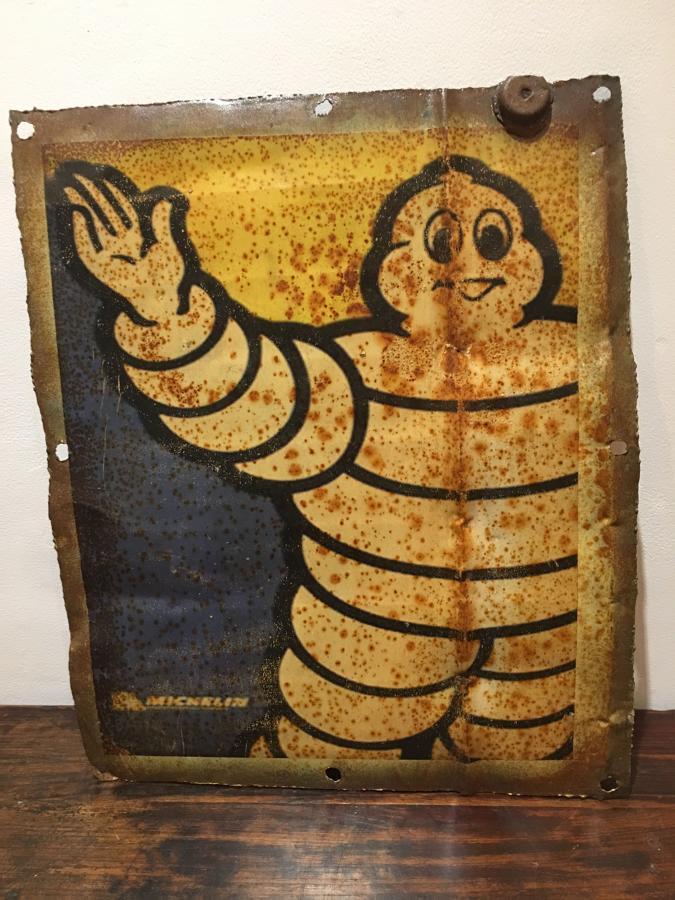 A Michelin Man panel