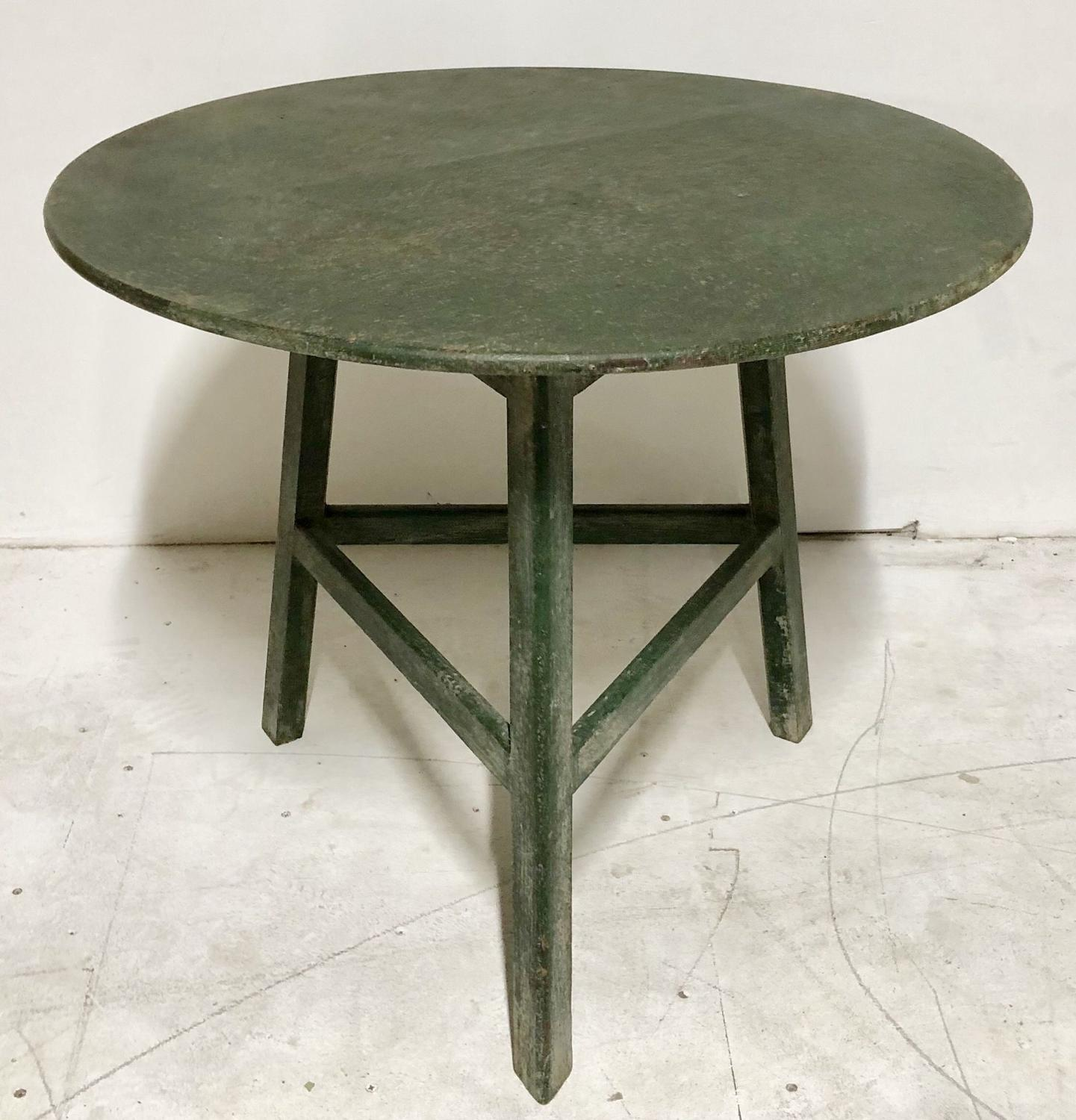 A painted Cricket table