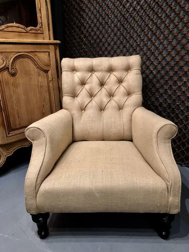 A large Victorian Armchair