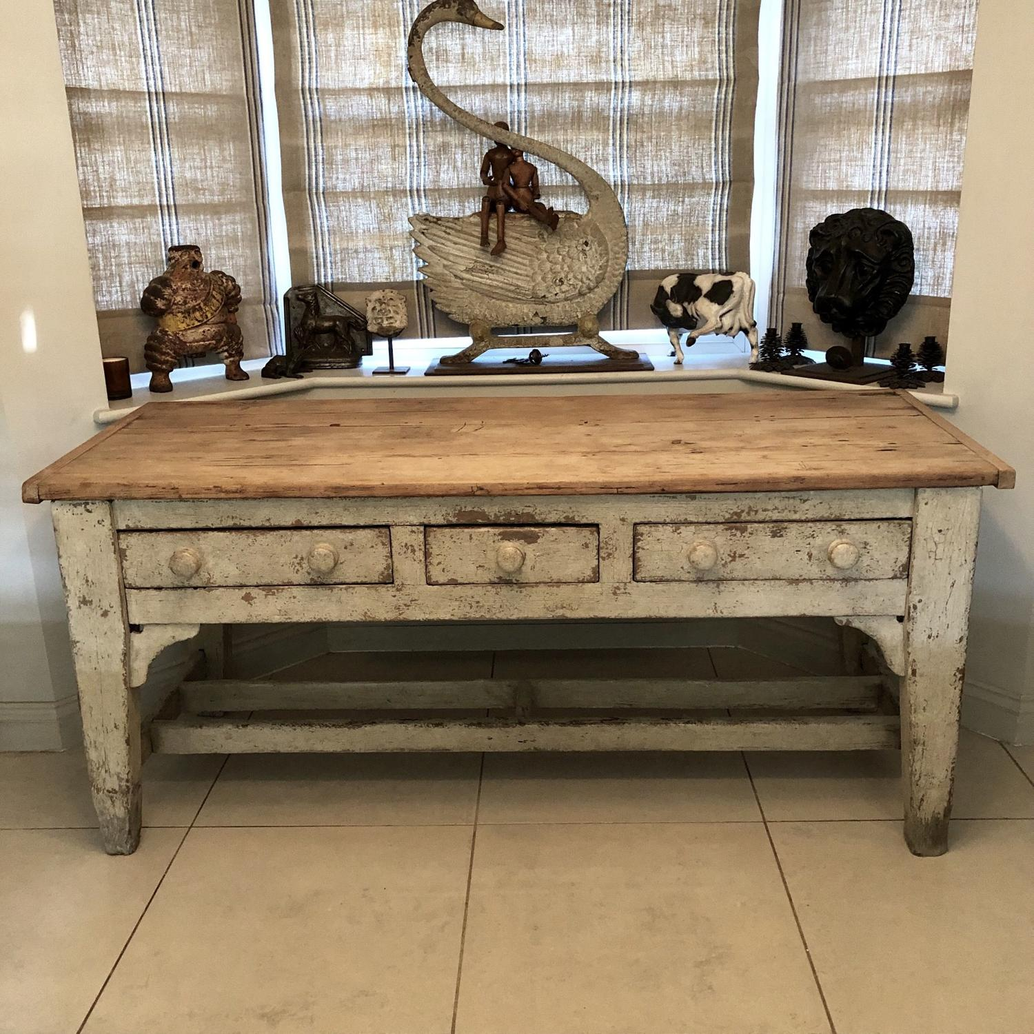 A 19thC Dairy Table