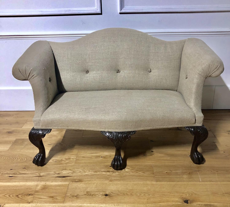 A petite Irish Sofa