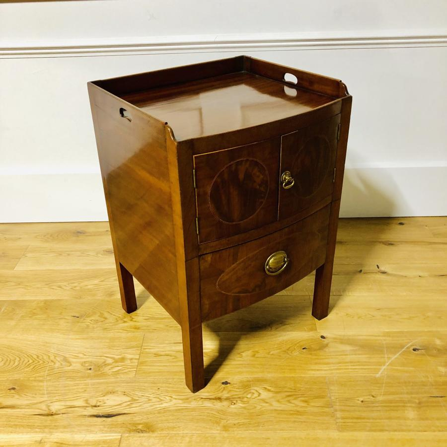 A Georgian Mahogany commode