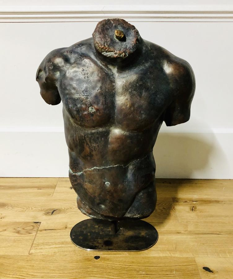 A Classical Torso On Stand