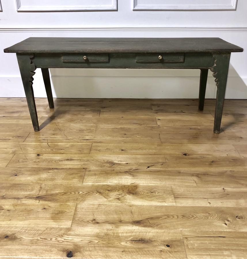 A 19thC Spanish console serving table