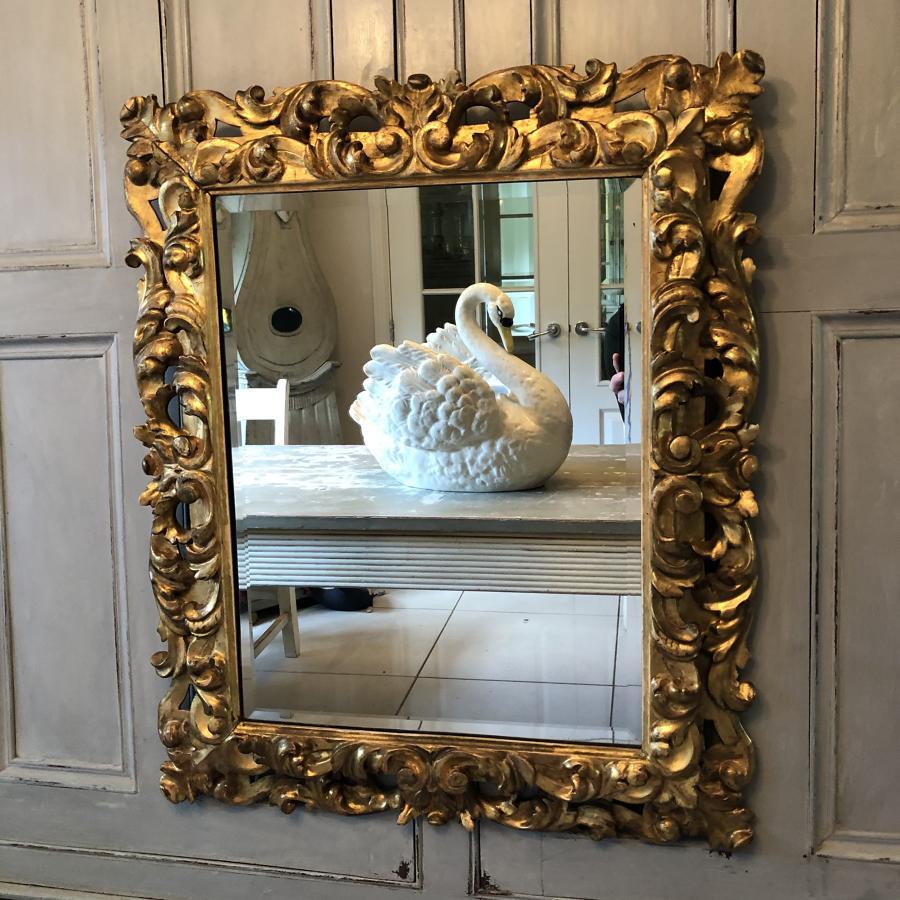 A 19thC Florentine Mirror
