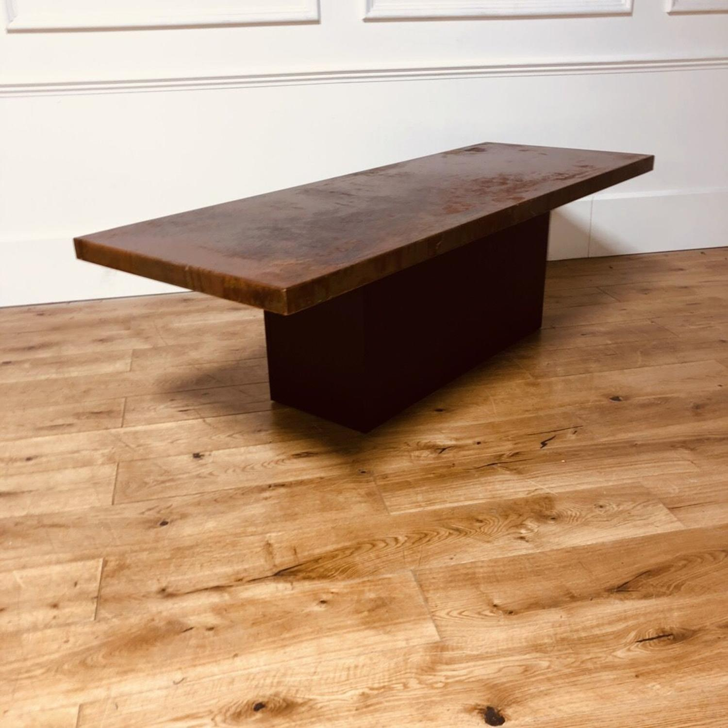 A Mid Century Coffee Table In Furniture
