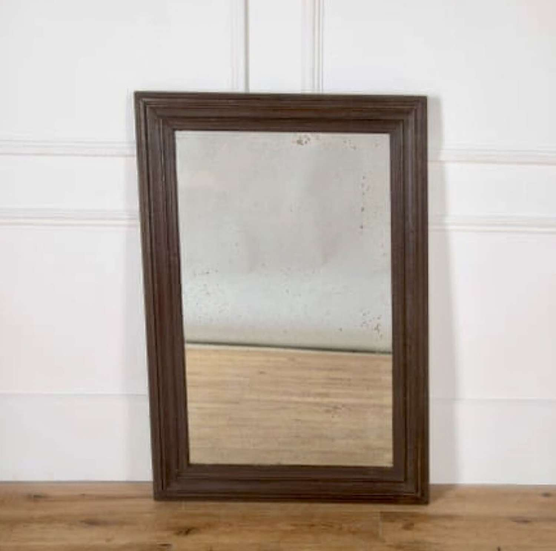 An Irish painted mirror