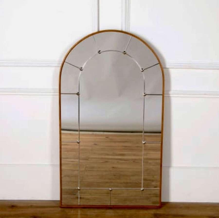 A Swedish Panelled Mirror