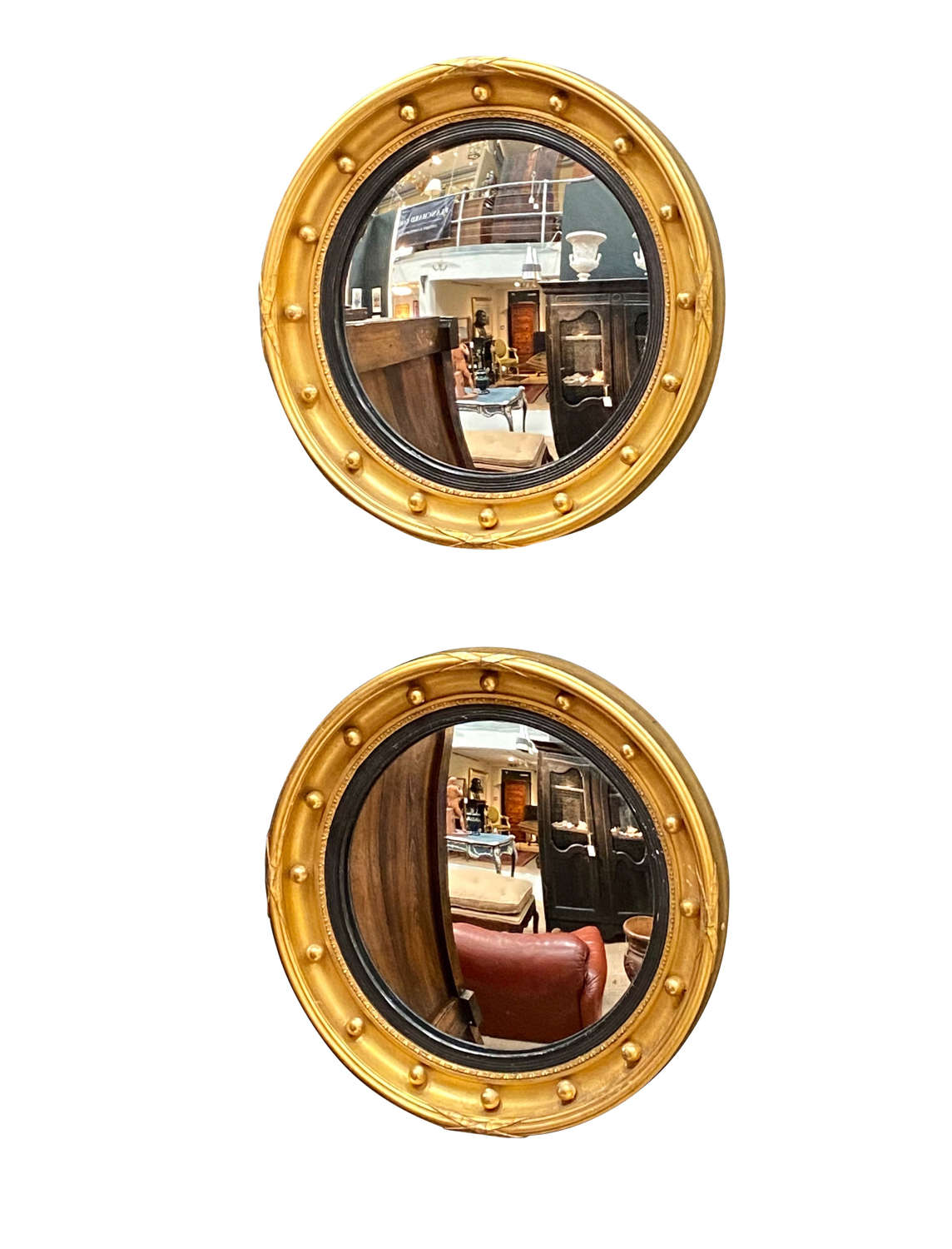 A Pair of Convex Mirrors