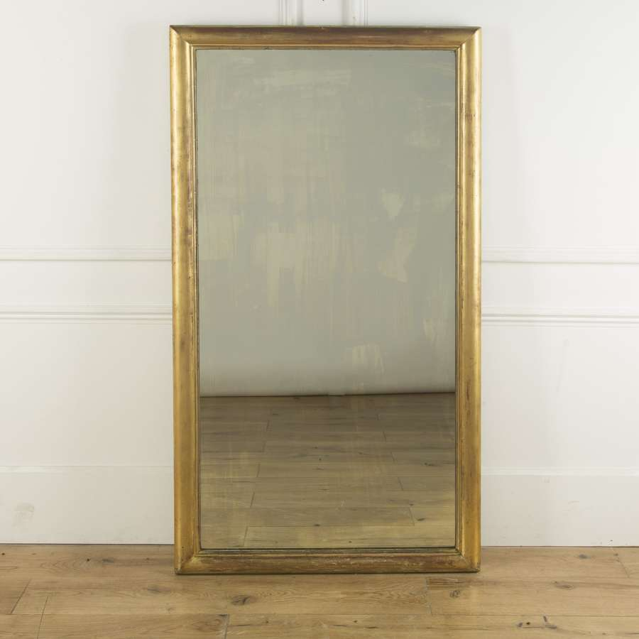 A large Giltwood mirror