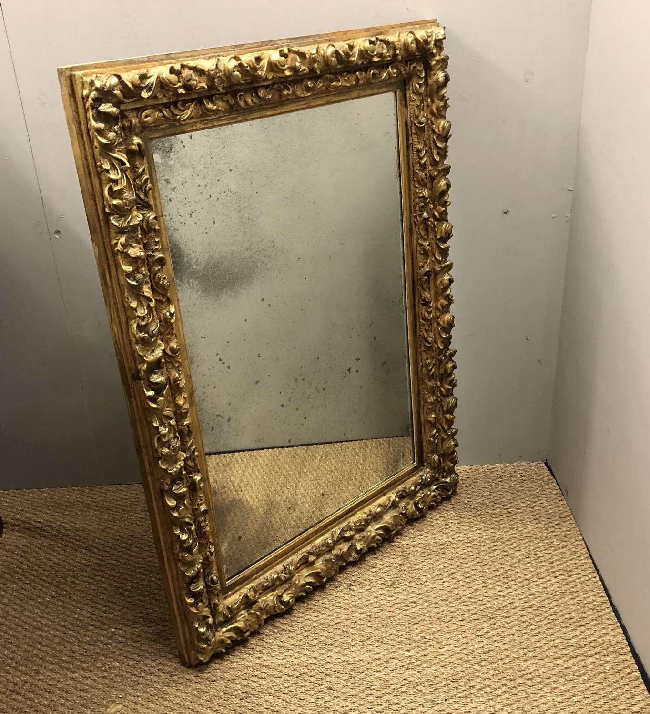 A French Rococo revival mirror
