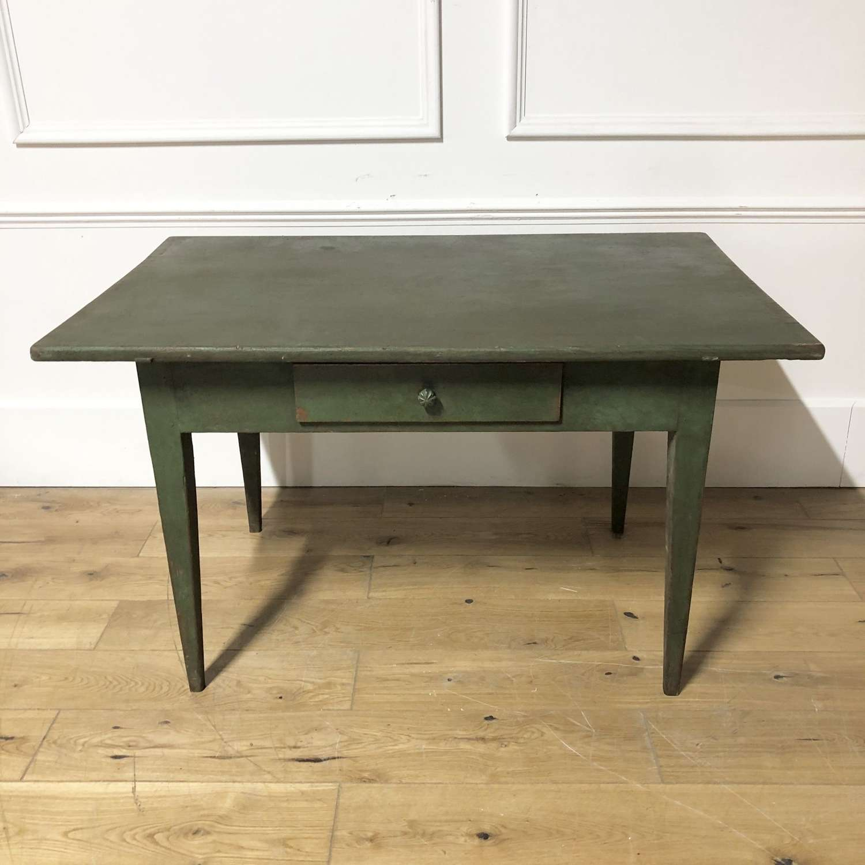 A Painted Pine Farmhouse Table