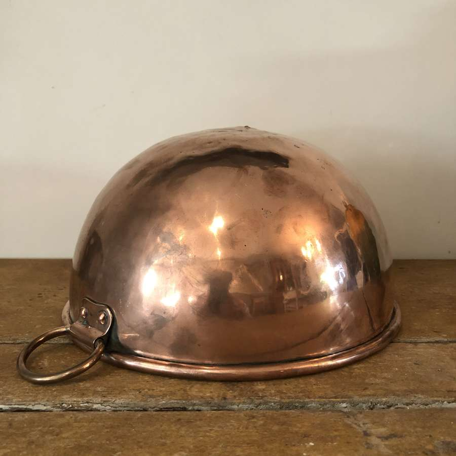 A copper egg white Bowl
