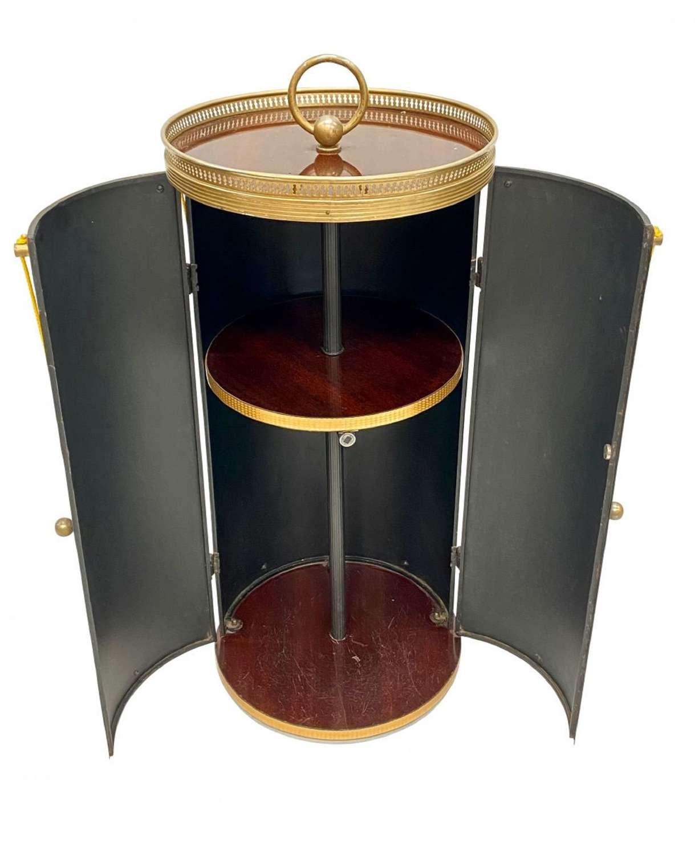 An Italian portable cocktail cabinet