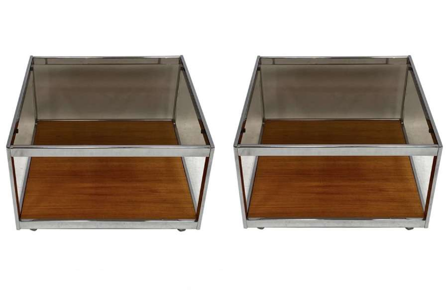 A pair of Howard Miller MDA coffee tables