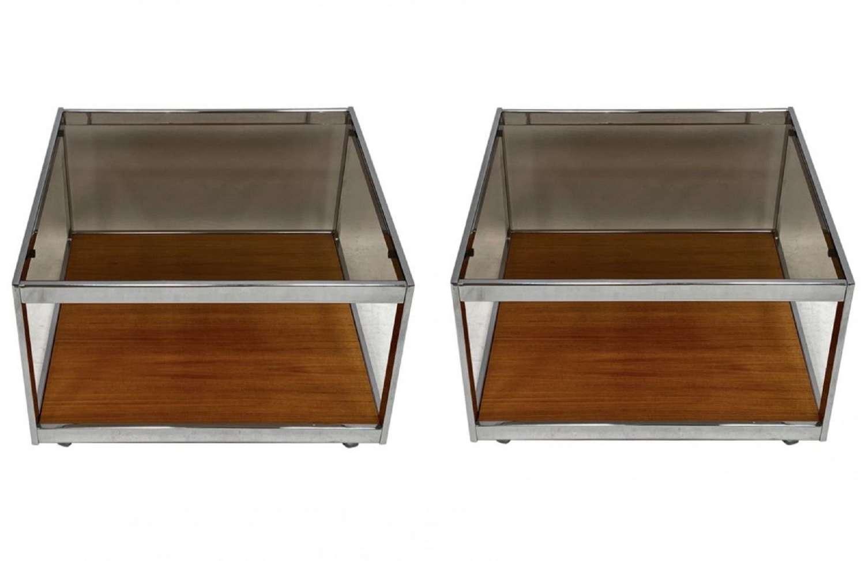 A pair of Howard Miller MDA coffee tables
