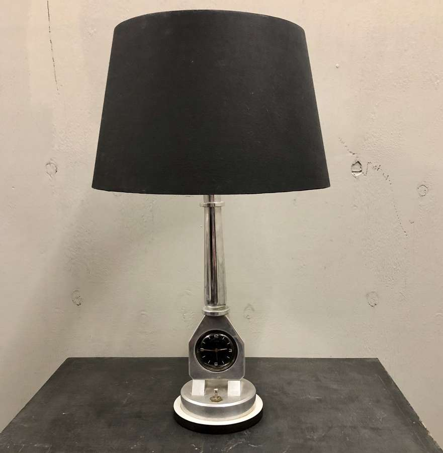A rare Oris Automobilia Table lamp