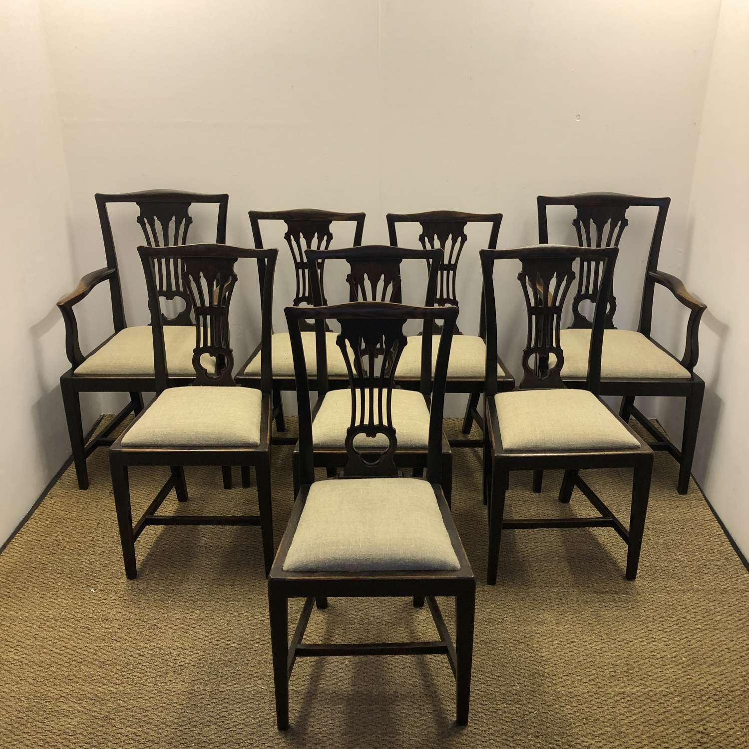 A set of Country Dining Chairs